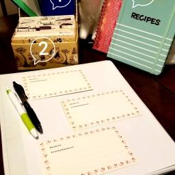 Recipes: Organizing for productivity
